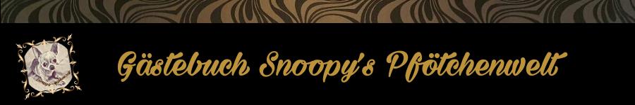 Snoopy's Pfötchenwelt